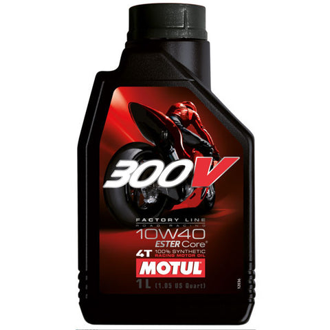 Motul 300V + FREE Oil Filter (On Quailifying Purchases)