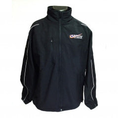 GB Racing Clothing - Lightweight Rain Jacket BLACK
