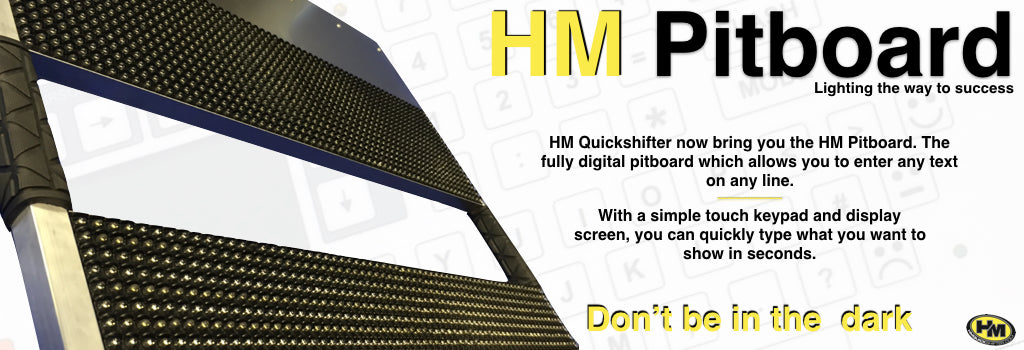 Digital Pitboard by HM Racing & Quickshifters