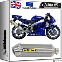 Yamaha R1 1998 - 2002 PI Pre-Injection Arrow Full Exhaust System