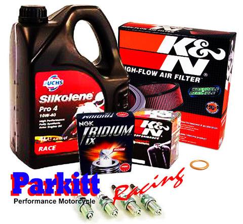Parkitt PERFORMANCE Motorcycle Service Kit (Silkolene)