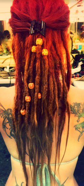 LOC EXTENSIONS (Straight Texture  Full Set 60 Locs)