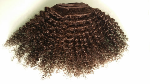 Virgin Unprocessed Kinky Afro 4B/4A/4C