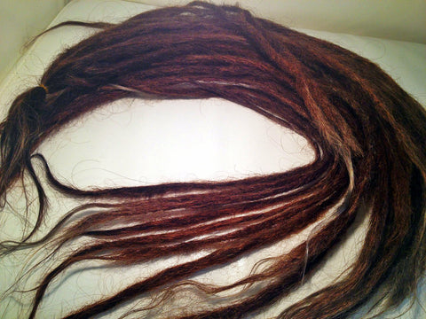 LOC EXTENSIONS (Straight Texture  Full Set 100 Locs)