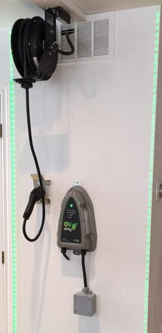 EVoREEL AND EVduty-40 Charging station