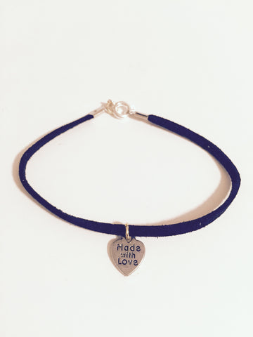 Made with Love Charm Bracelet