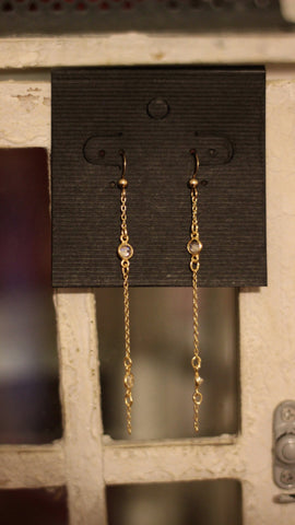 Perki Crystal Earrings