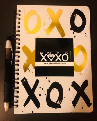 "ONYX ""XOXO"" Daily Notebook"