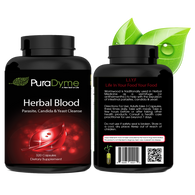 Herbal Blood - Parasite, Candida & Yeast Cleanse by PuraDyme