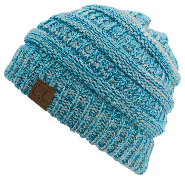 C.C Classic Fit Beanie - Blue Mix #15