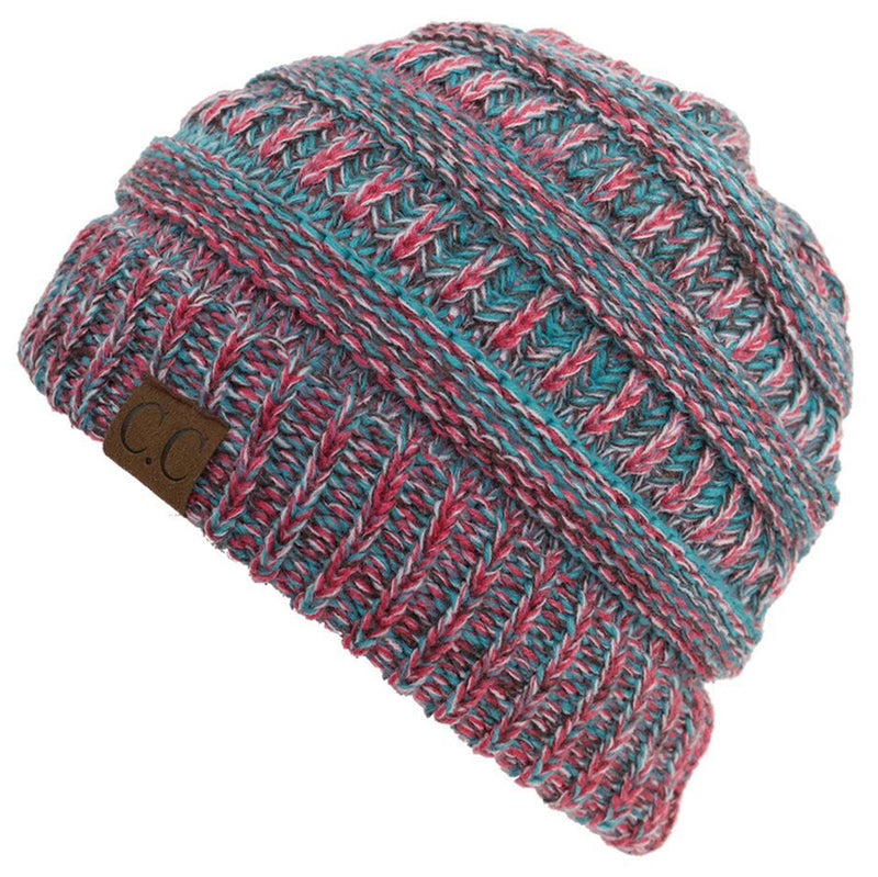 C.C Classic Fit Beanie - Turquoise Mix #19