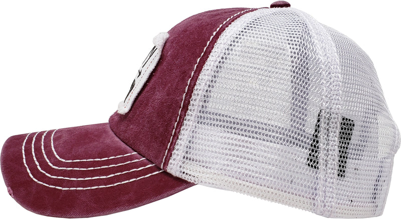Mesh Patch Hat - Happy Camper