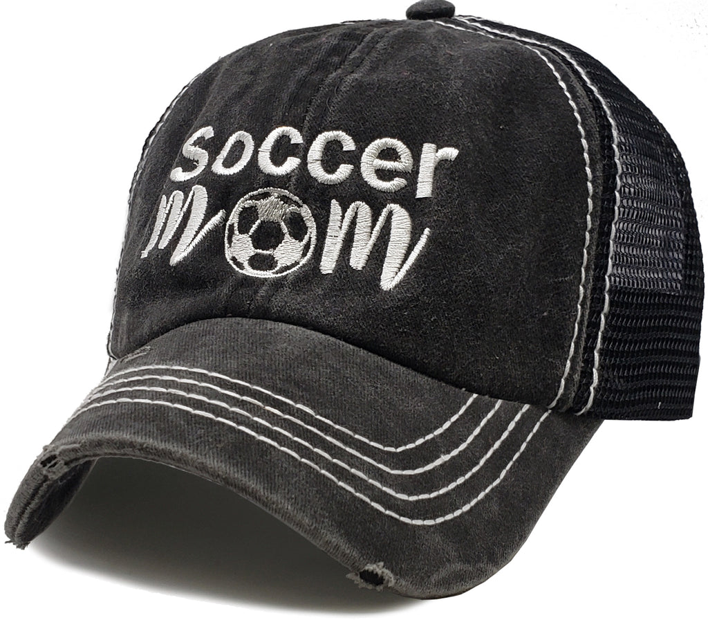 Mesh Patch Hat - Soccer Mom