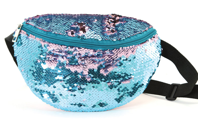 Fanny Pack - Sequin Cotton Candy Mix