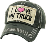 Patch Hat - I love My Truck