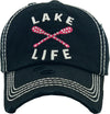 Distressed Patch Hat - Lake Life