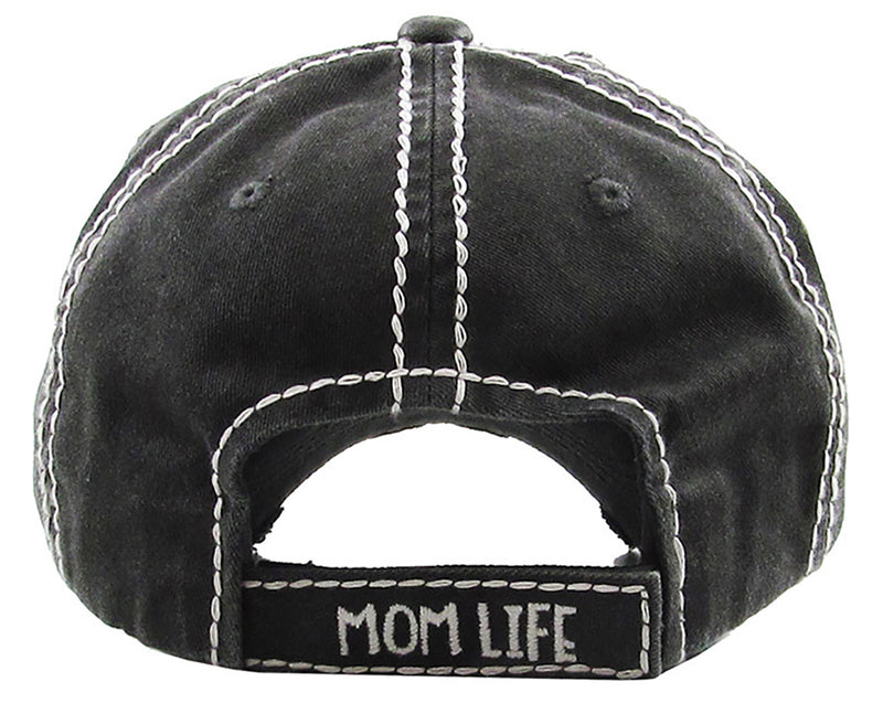 Distressed Patch Hat Mommin Is - My Cardio