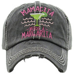 Distressed Patch Hat - Mamacita Needs a Margarita