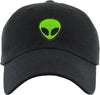 Unconstructed Dad Hat - Alien (Black)