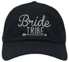 Unconstructed Dad Hat - Bride Tribe (Black)