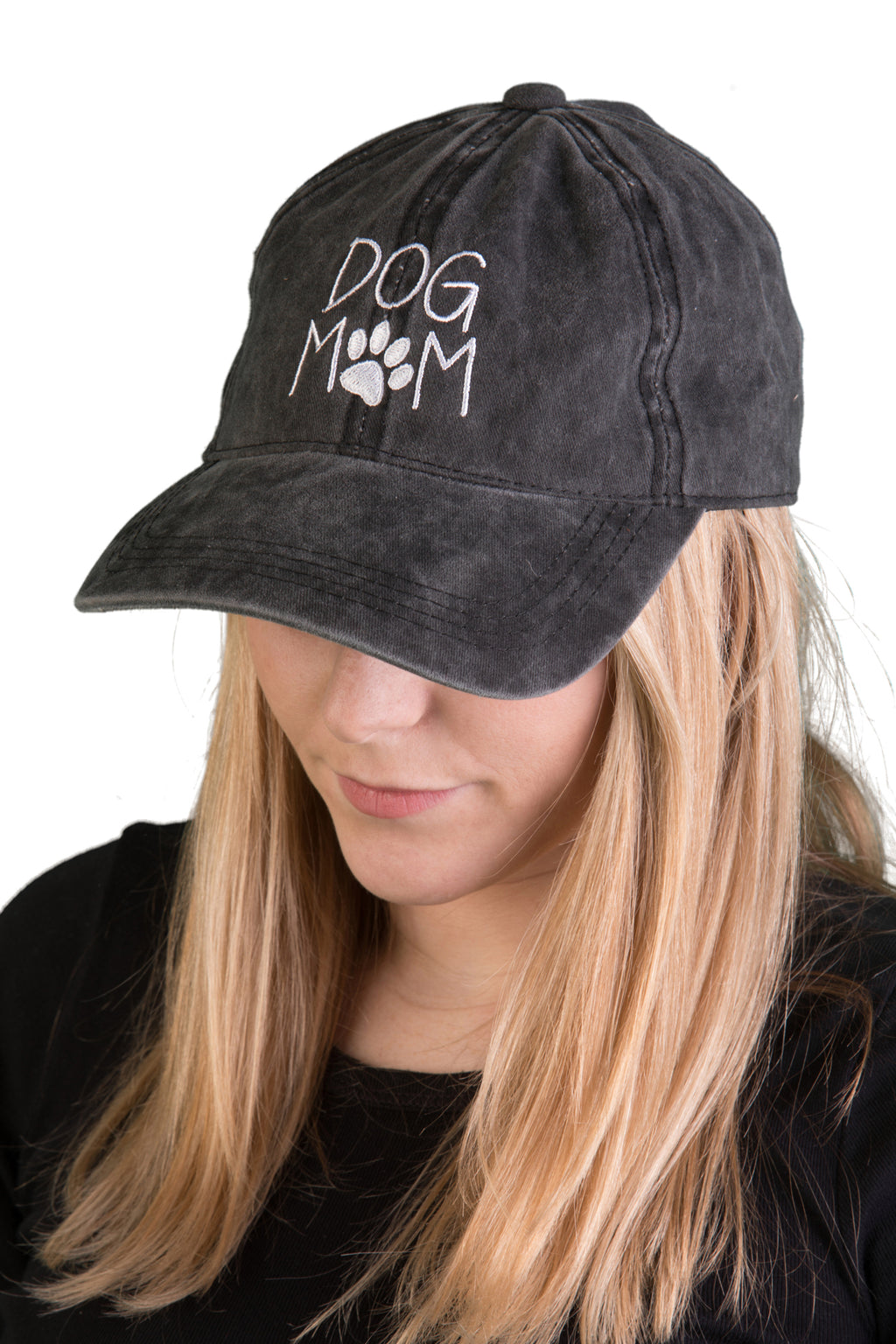 Unconstructed Dad Hat - Dog Mom