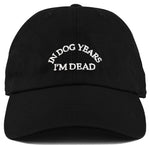 Dad Hat - In Dog Years I'm Dead