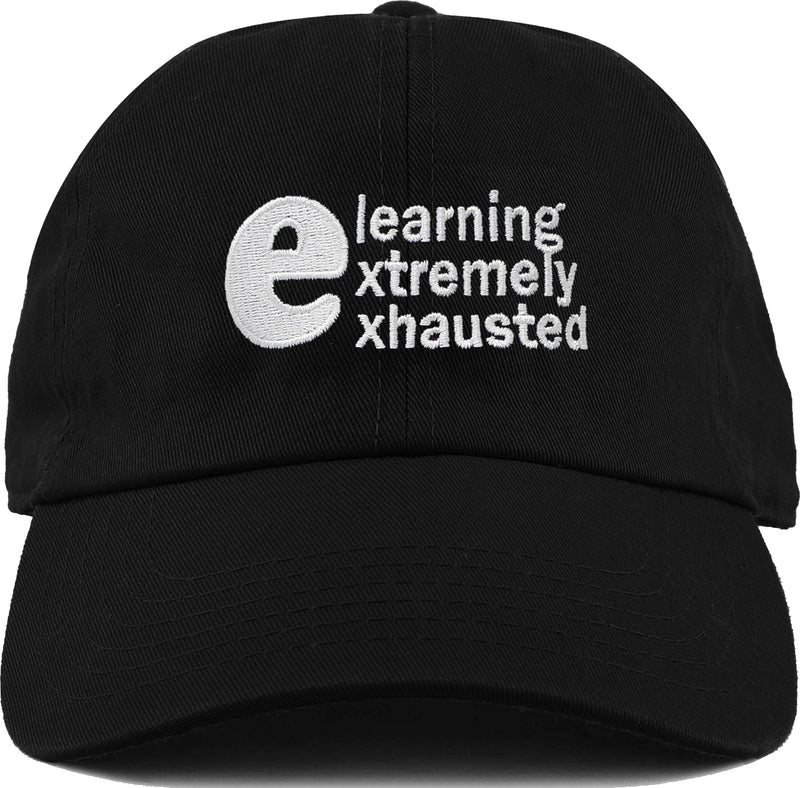 Dad Hat - Elearning Extremely Exhausted