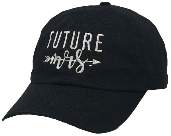 Unconstructed Dad Hat - Future Mrs. (Black)