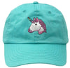 Unconstructed Dad Hat - Unicorn Icon (Mint)