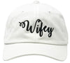 Unconstructed Dad Hat - Wifey (White)
