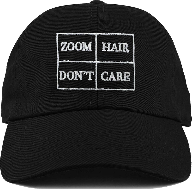 Dad Hat - Zoom Hair Don't Care