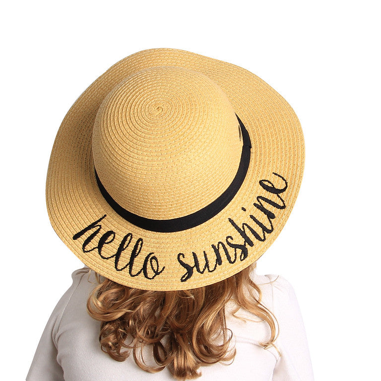 Kid's Sun Hat - Hello Sunshine