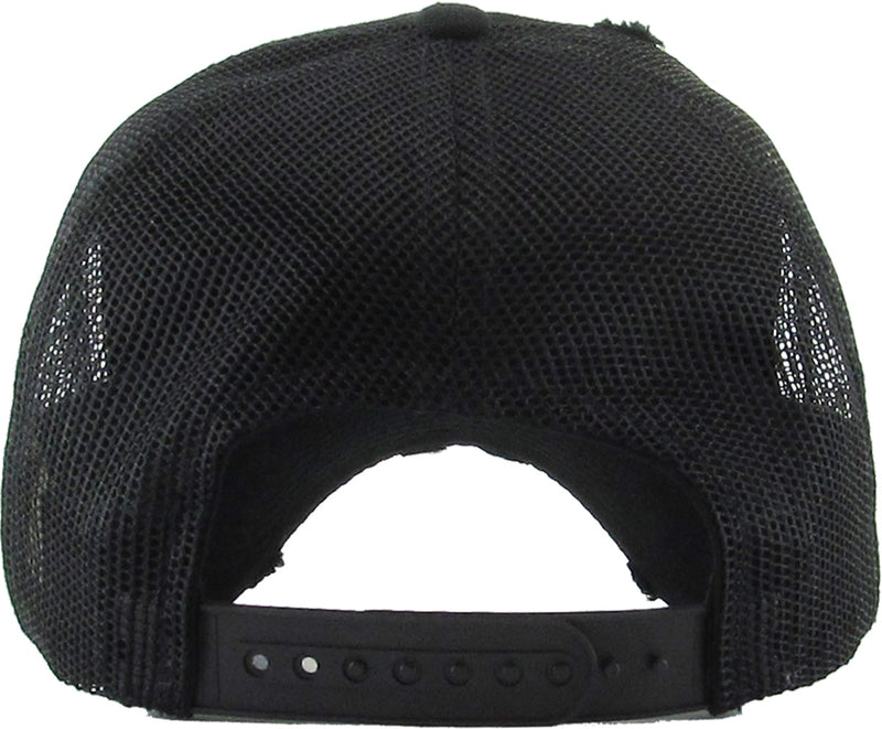 Distressed Trucker Hat - Daddy