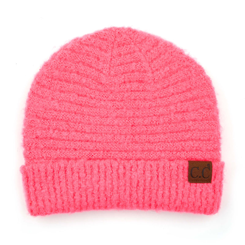 C.C. Super Soft Knit Boucle Beanie