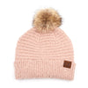 C.C. Super Soft Knit Boucle Pom Beanie