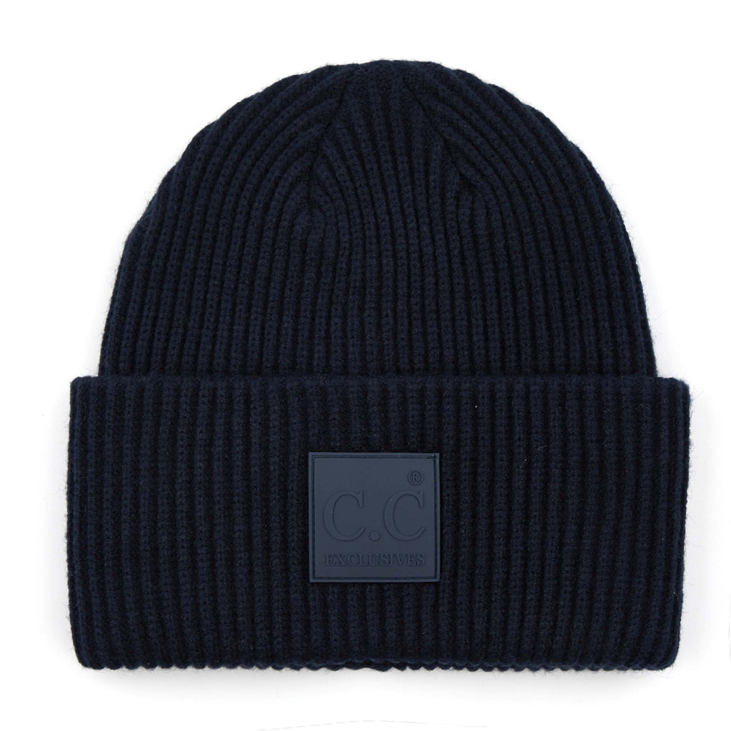C.C. Solid Knit Hat