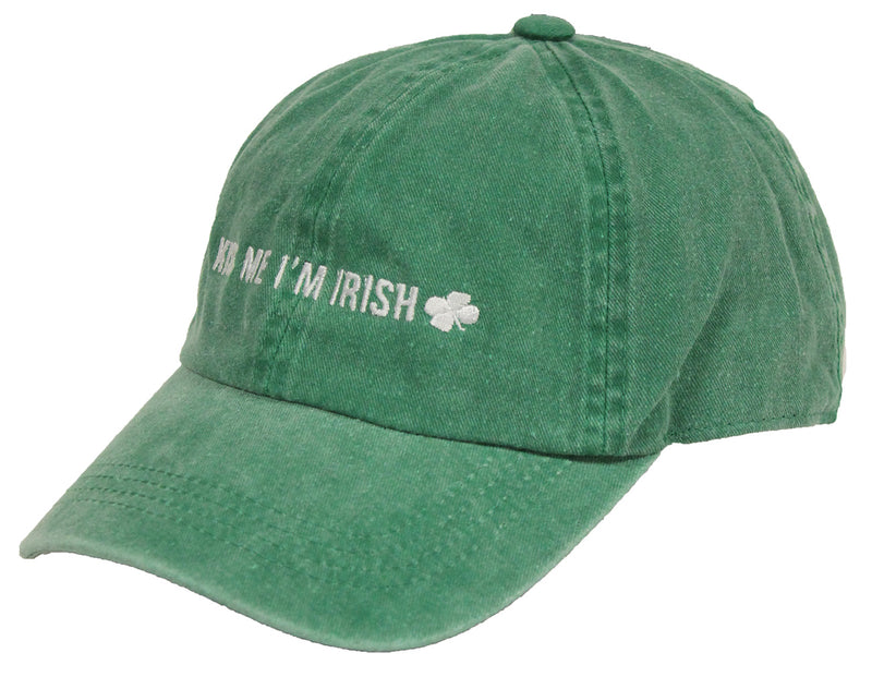 St. Patrick's Day Party Cap - Kiss Me I'm Irish (Green)