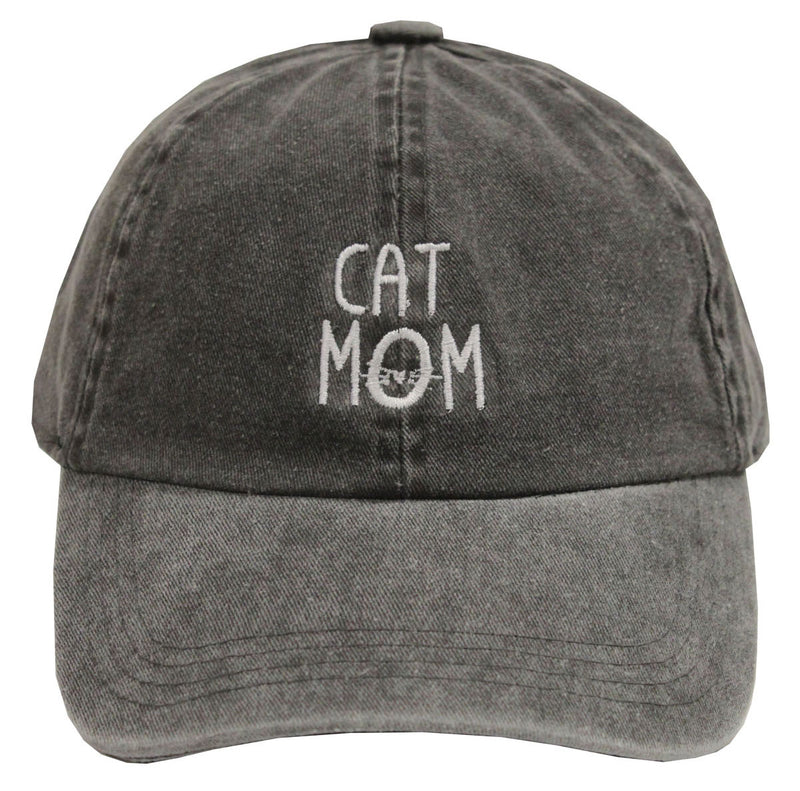 Unconstructed Dad Hat - Cat Mom