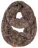 C.C Infinity Scarf - Brown Mix #21