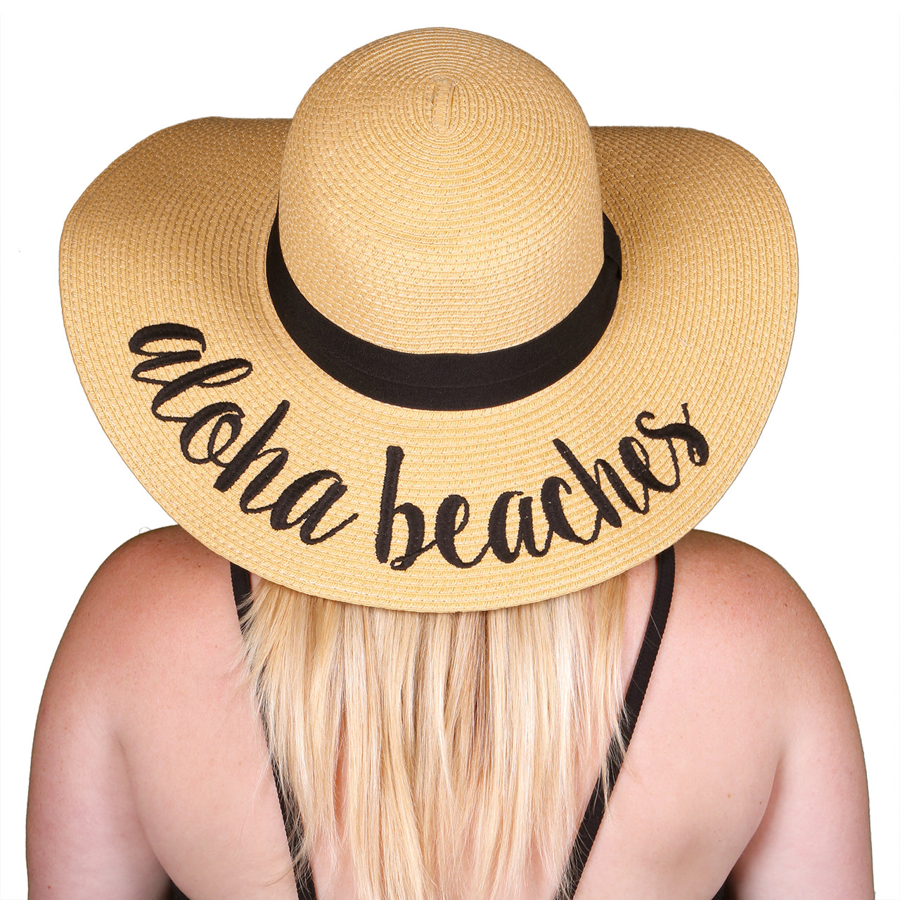 C.C Embroidered Sun Hat - Aloha Beaches