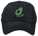 Unconstructed Dad Hat - Avoca-Duh (Washed Black)