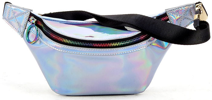 Funky Junque's Metallic Fanny Pack - Hologram