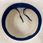 C.C Embroidered Sun Hat - Beach Hair Don't Care