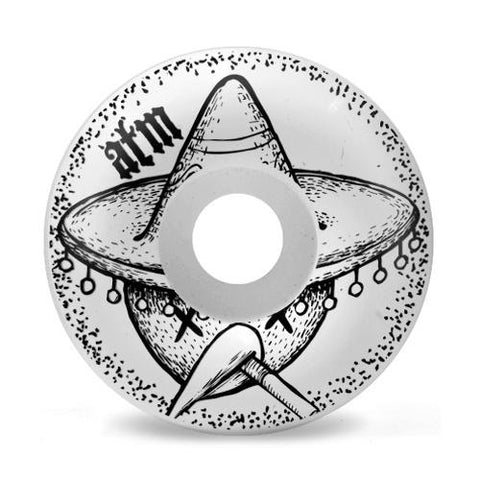ATM Taco 53mm Wheels (White)