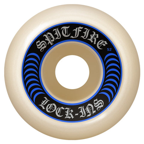 Spitfire Formula Four 52mm 99A Lock-In Wheels