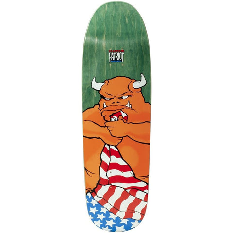 101 Natas Kaupas Patriot Green Screen Printed R7 Deck 9.5""