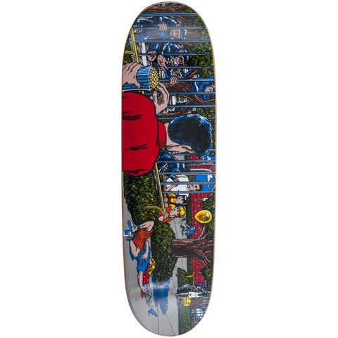 101 Koston Day At The Zoo Screen Printed R7 Deck 8.78""