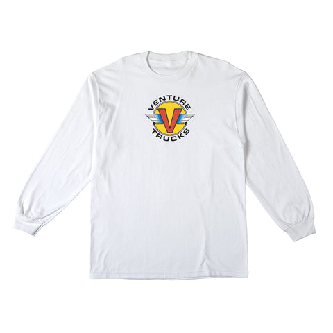 Venture Wings Long Sleeve T-Shirt (White)