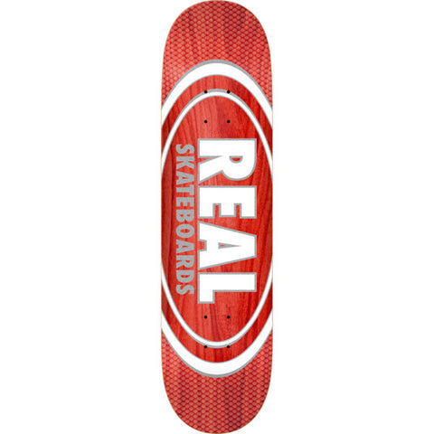 Real Oval Pearl Patterns Slick Deck 8.25""