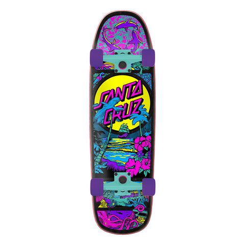 "Santa Cruz Time Warp Shaped Cruzer Complete Skateboard 9.51"" x 32.26"""
